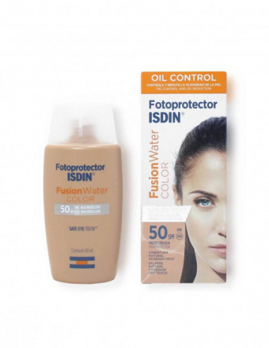 Fotoprotector Fusion Water Color Oil Free SPF 50
